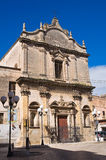 Church of St. Benedetto. Massafra. Puglia. Italy. Royalty Free Stock Photography