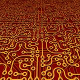 Perspective Circuit Board Vector Stock Photos