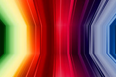 Perspective Colorful Background Royalty Free Stock Photos
