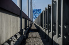 Perspective. Converging lines. Perspective of lines Stock Photo