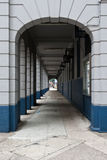 Perspective of corridor. This is a perspective of a corridor Royalty Free Stock Image