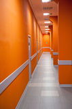 Perspective of a corridor Royalty Free Stock Photography