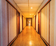 Perspective of the corridor Royalty Free Stock Photography