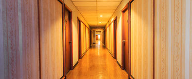 Perspective of the corridor Royalty Free Stock Images