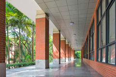 The perspective of the corridor Royalty Free Stock Photography