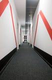 Perspective of the corridor i Stock Photos