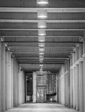 Perspective of corridor Stock Image