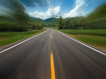 Perspective country Road Royalty Free Stock Photography