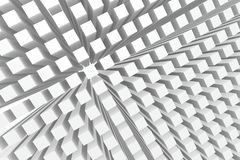 Perspective cubes background royalty free stock image