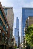 Perspective de Chicago Images libres de droits