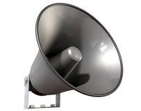 Perspective de haut-parleur de klaxon Photos stock