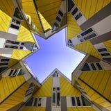 Perspective de Kubuswoningen photo stock