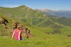 Perspective de l'Andorre Photographie stock libre de droits