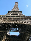 Perspective of Eiffel tower Royalty Free Stock Photos