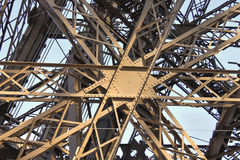 Detail Eiffel Tower Perspective Stock Photos