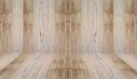 Perspective en bois Photographie stock libre de droits