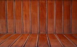 Perspective en bois de fond Photo stock