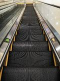 Perspective of escalator stock images