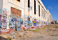 Perspective of Fremantle Power Station Stock Photos
