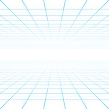 Perspective grid background Royalty Free Stock Photography