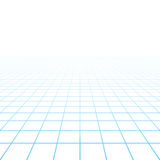 Perspective grid background. Illustration in white royalty free illustration