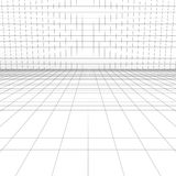 Perspective grid for background Royalty Free Stock Image