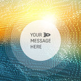 Perspective Grid Background. Vector Illustration. Design Template. Abstract Background with Place for Text Stock Photos