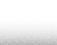 Perspective grid hexagonal surface. Vector illustration Royalty Free Stock Image