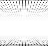 Perspective grid surface Royalty Free Stock Image