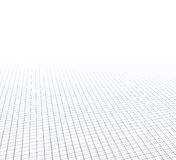 Perspective grid surface Royalty Free Stock Photography