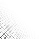Perspective grid surface Stock Photo
