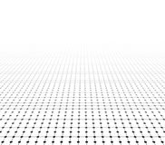 Perspective grid surface. Stock Photography