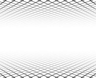 Perspective grid surface. Royalty Free Stock Photography