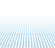 Perspective grid surface Royalty Free Stock Photo