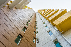 Perspective image of high rise building Royalty Free Stock Photography