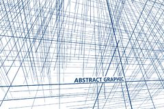 Perspective of the lines composed of abstract graphic design. Perspective of the lines composed of abstract graphic design,Abstract background Royalty Free Stock Images