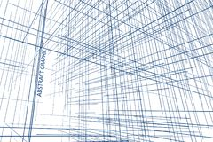 Perspective of the lines composed of abstract graphic design. Perspective of the lines composed of abstract graphic design,Abstract background Royalty Free Stock Photo