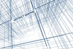 Perspective of the lines composed of abstract graphic design. Perspective of the lines composed of abstract graphic design,Abstract background Stock Image