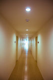 Perspective of the long corridor Royalty Free Stock Image