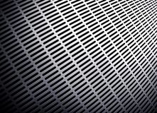 Perspective of metal background Royalty Free Stock Photography