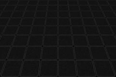Perspective Metal Square Background Stock Images