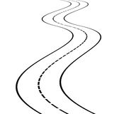 Free Perspective Of Curved Road Stock Photo - 62445970