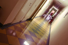 A perspective office. An office corridor and perspective Stock Photography