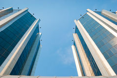 Perspective of office building Stock Photography