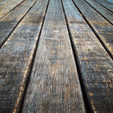 Perspective Old wood floor. Texture of perspective Old wood floor vertical Royalty Free Stock Photo