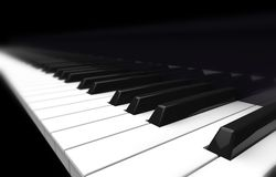 Perspective piano Stock Photography