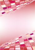 Perspective Pink Background Stock Image