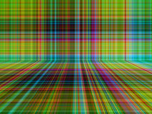Perspective plaid or tartan pattern abstract background Stock Photos