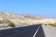 Perspective road, Death Valley, USA Stock Image