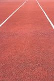 Perspective of running track Royalty Free Stock Images
